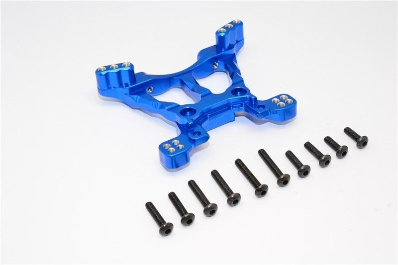 ALLOY FRONT SHOCK TOWER - 1PC blue