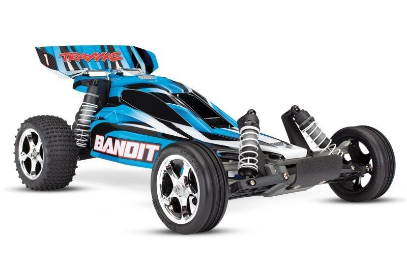 TRAXXAS Bandit blau Buggy RTR ohne Akku/Lader
