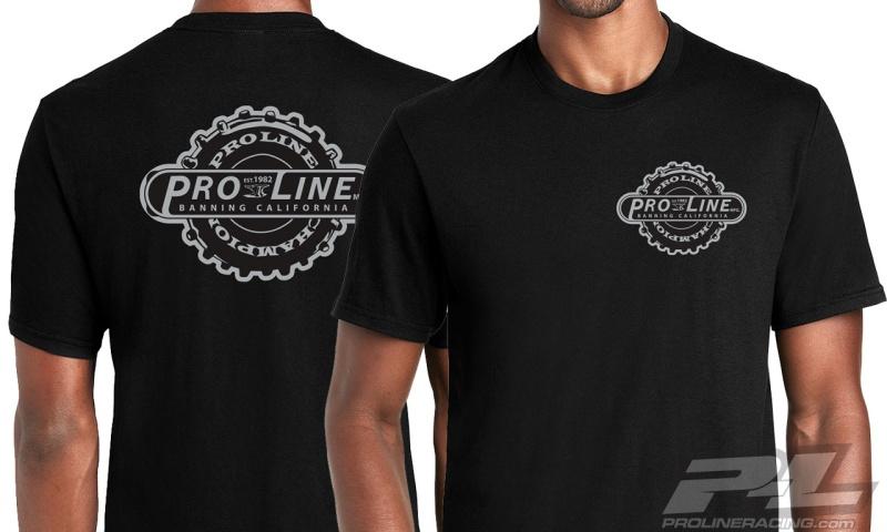 Pro-Line Manufactured schwaz T-Shirt
