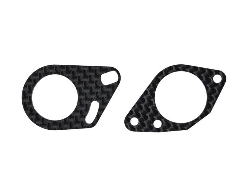 Midshaft mounts carbon (2) S989 (SER903754)