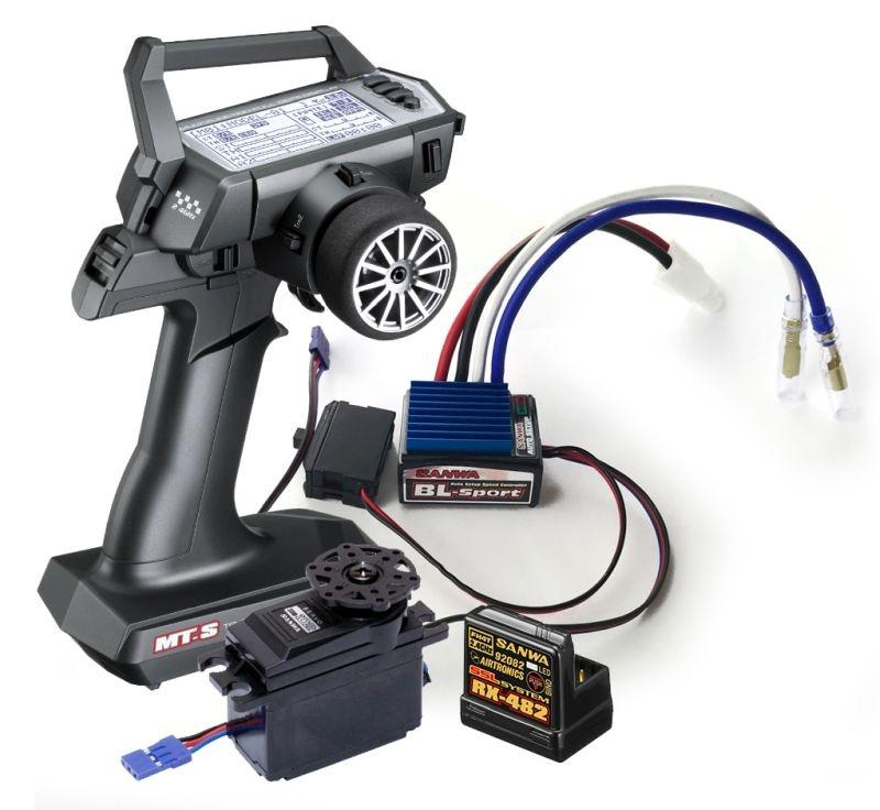 MT-S Combo TX/RX-482 + BL-Sport-Regler & SRM-102Z Servo
