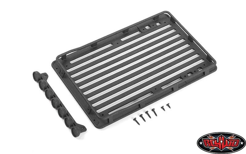 Micro Series Roof Rack w/ Light Set for Axial SCX24 1/24 Jee