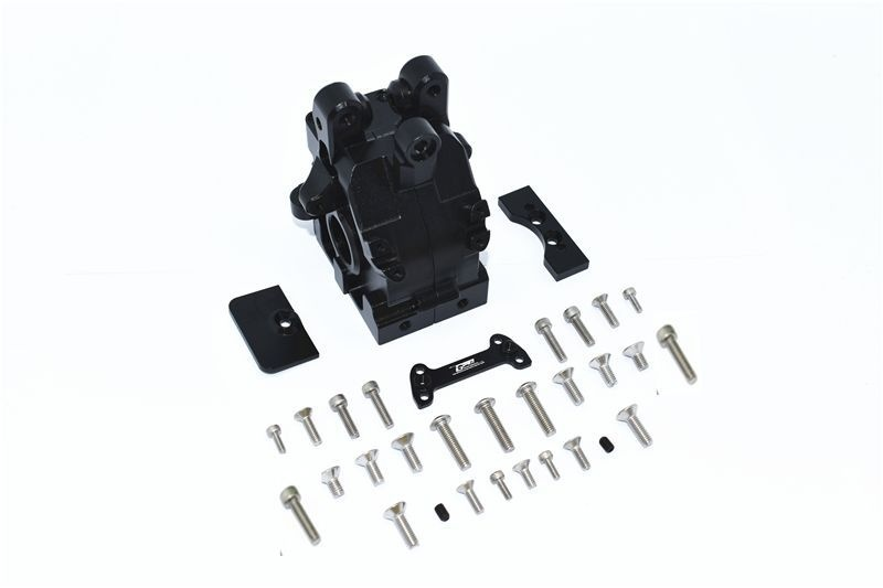 ALUMINUM REAR GEAR BOX -32PC SET black