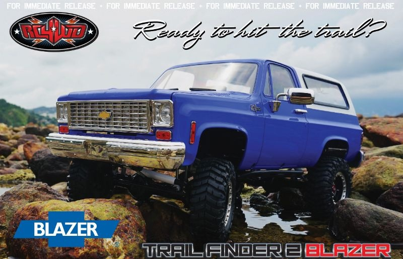 RC4WD Trail Finder 2 RTR w/Chevrolet Blazer Body Set