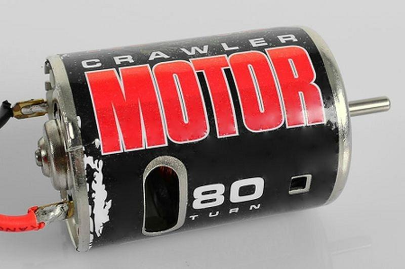 540 Crawler Brushed Motor 80T