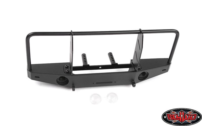 Front Winch Bumper w/ Brush Guard for Traxxas TRX-4