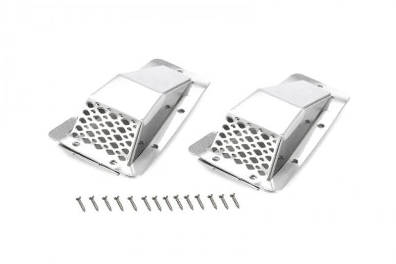 SCALE ACCESSORIES: METAL FENDER VENT (STYLE A) -16PC SET
