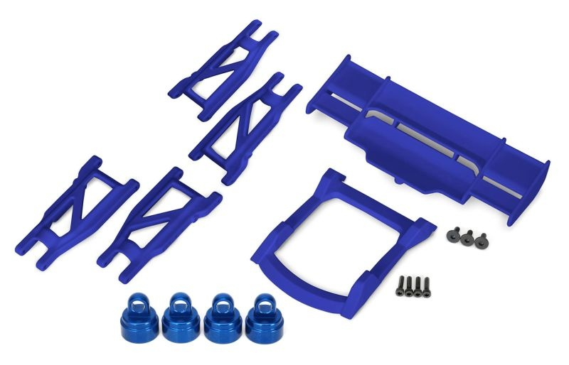 TRX Rustler 4x4 Upgrade Set blau