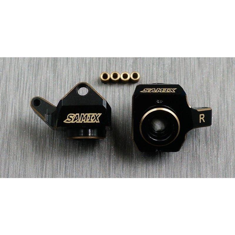 SAMIX SCX24 brass heavy steering knuckle