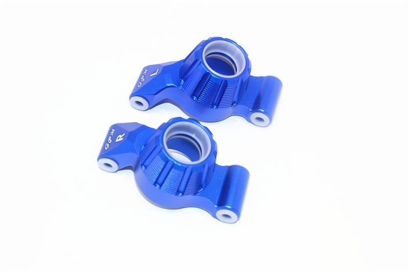 ALUMINUM REAR KNUCKLE ARM -2PC SET blue