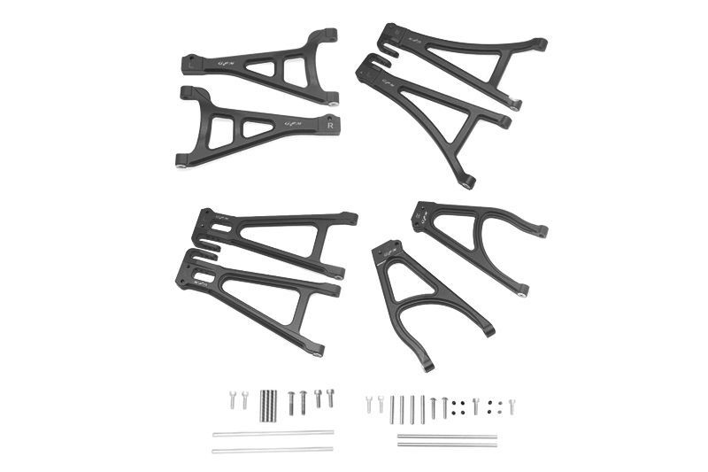 ALU FULL SUSPENSION ARM SET (FRONT+REAR & UPPER+LOWER)-40PCS