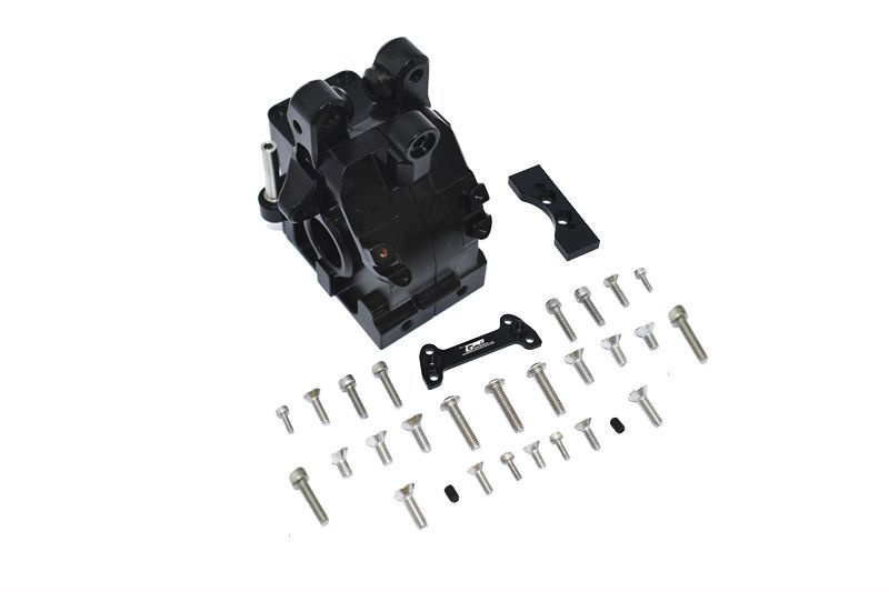 ALUMINUM FRONT GEAR BOX -31PC SET black