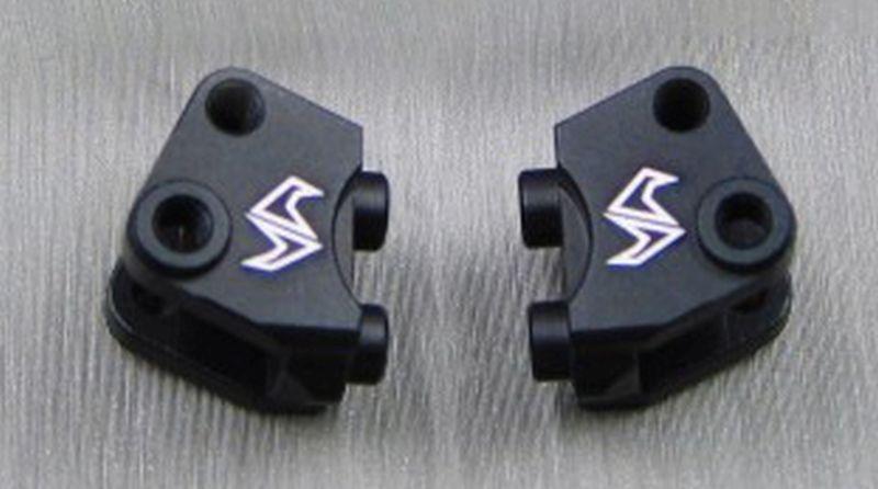 SAMIX SCX10-2 alum black lower shock/ suspension link mount