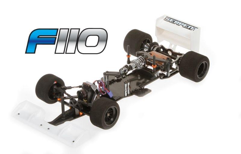 Serpent F110 1/10  2wd (Formel1)
