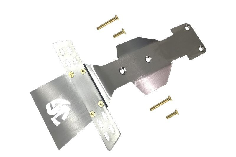 STAINLESS  STEEL FRONT SKID PLATE -5PC SET