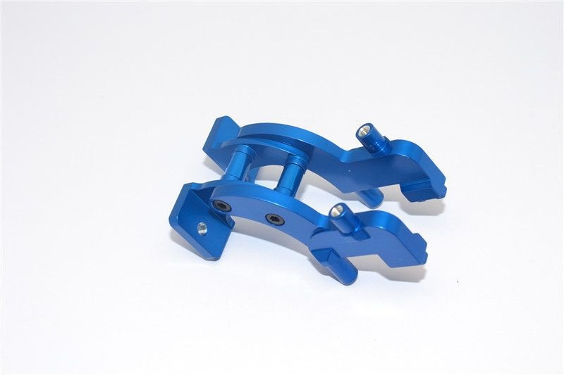 ALLOY REAR WING MOUNT - 1SET blue