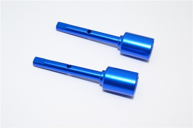 ALLOY MIDDLE SHAFT JOINT - 1PR  (FOR TT02, TT02B) blue