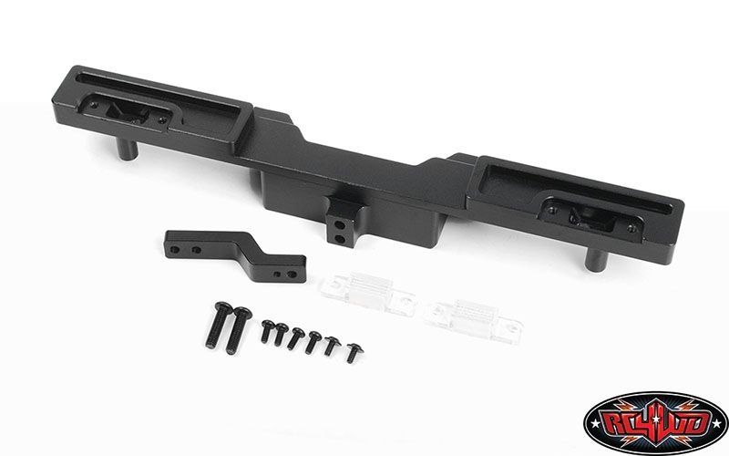 Oxer Steel Rear Bumper w/ Towing Hook and Brake Lenses