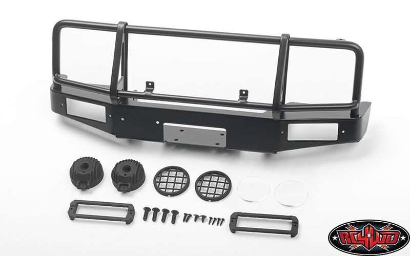 Trifecta Front Bumper w/ Round Lights f. Capo Racing Samurai