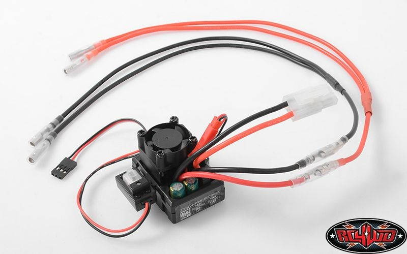 SLVR Outcry II Dual Motor Waterproof ESC