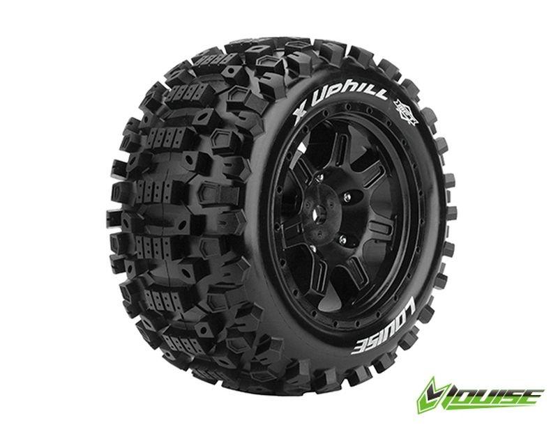 X-UPHILL Sport-Reifen   Felge schwarz