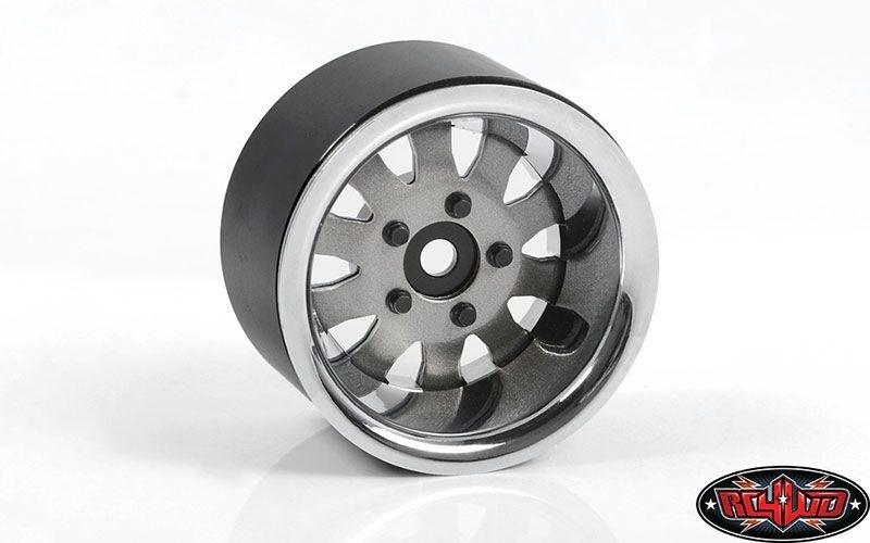 1.9 5 Lug Steel Wheels w/Beauty Ring (Silver)