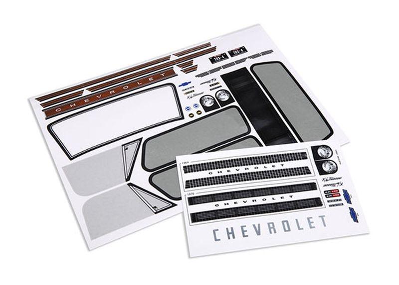Aufkleberbogen Chevrolet Blazer 1969-1970