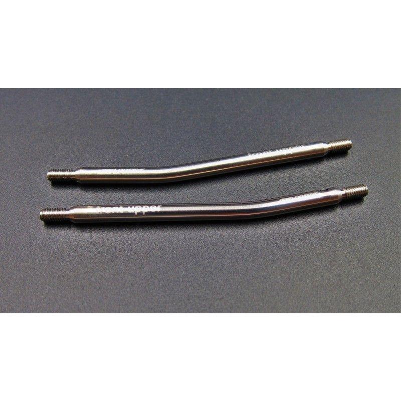 SAMIX SCX10 titianium front upper link set