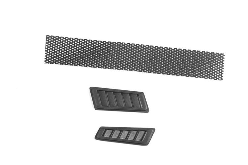 SCALE ACCESSORIES: FENDER VENT FOR TRX-4 MERCEDES-BENZ -3PCS