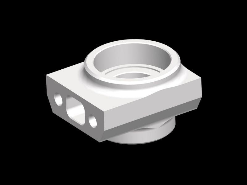 Pinion mount Magnesium H/L SRX8 GT (SER601161)