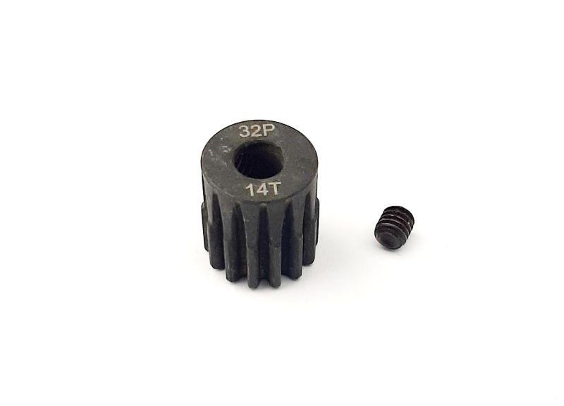 Ritzel 14 Zähne 32dp, 5mm Stahl (M0.8)
