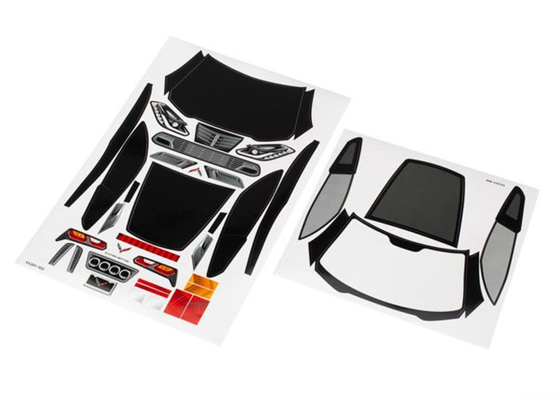 Decal-Sheets Chevrolet Corvette Z06