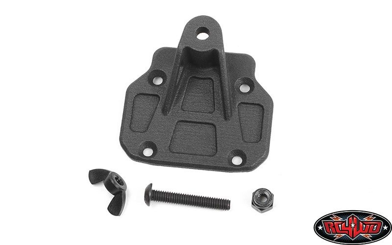 Spare Wheel and Tire Holder for Axial 1/10 SCX10 III Jeep