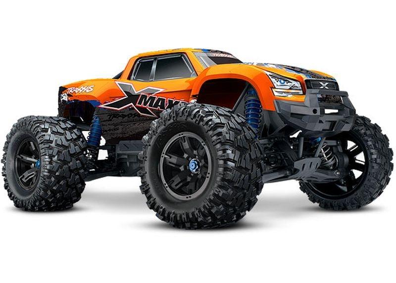 TRAXXAS X-Maxx 4x4 VXL NEW-orange RTR ohne Akku/Lader