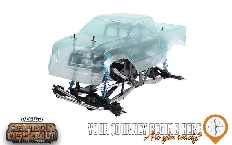 RC4WD Carbon Assault 1/10th Monster Truck KIT