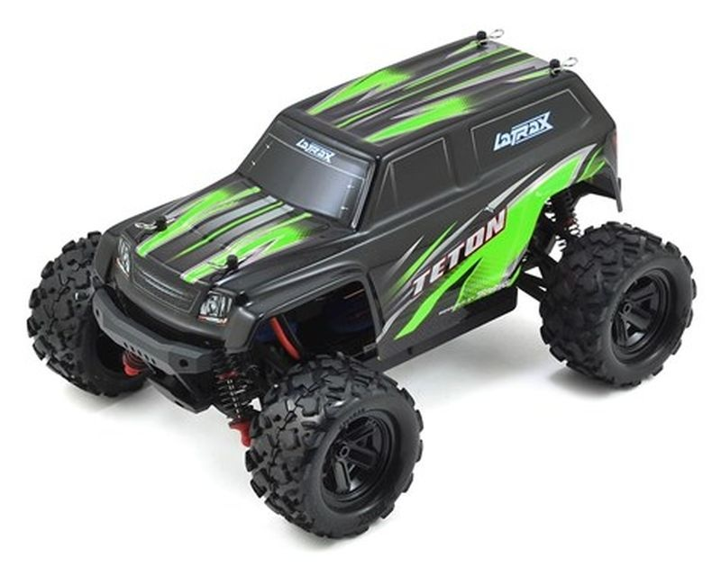 LATRAX Teton 4x4 grün RTR +12V-Lader+Akku