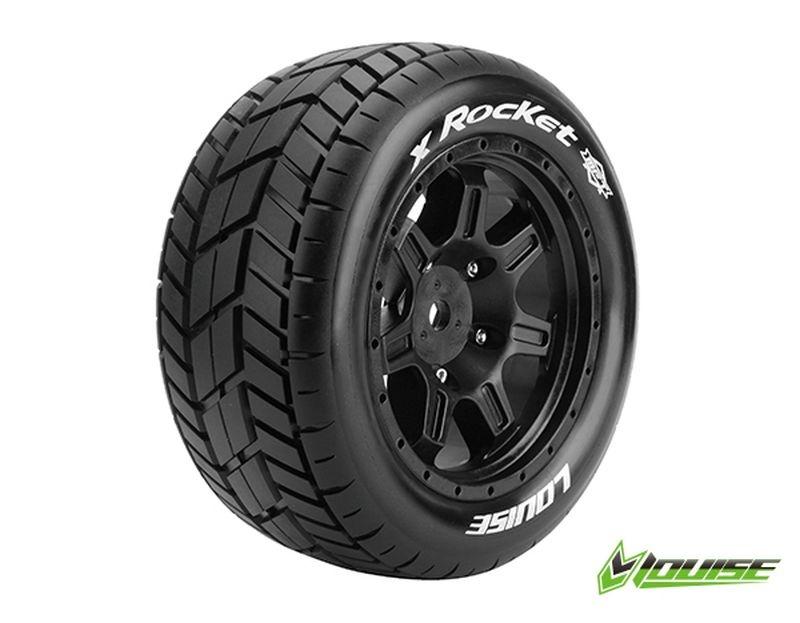 X-ROCKET Sport-Reifen   Felge schwarz