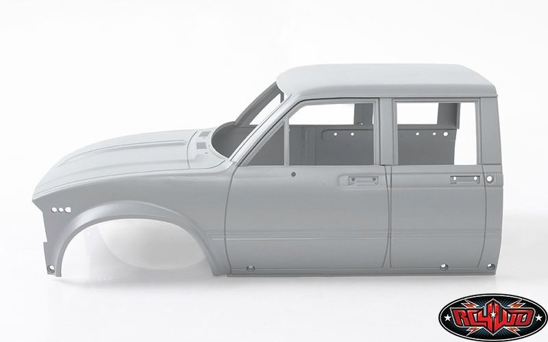 RC4WD Mojave II Four Door Front Cab (Primer Gray)
