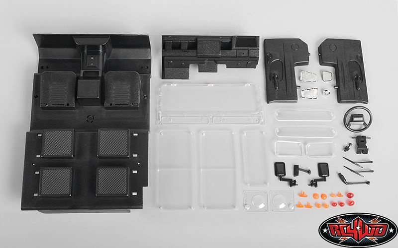 Hard Plastic Body Replacement Parts for Gelande II D90