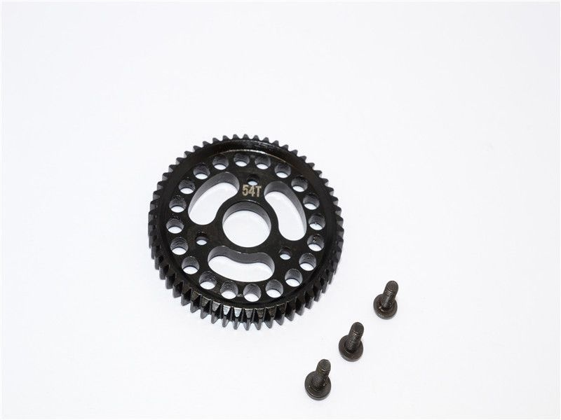 STEEL MAIN GEAR (54T) - 1PC SET black