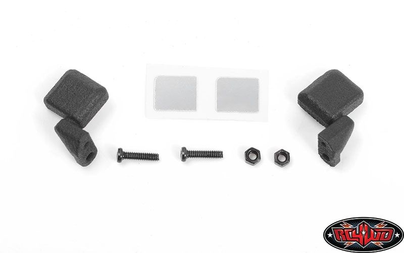 Micro Series Side Mirrors for Axial SCX24 1/24 Jeep Wrangler