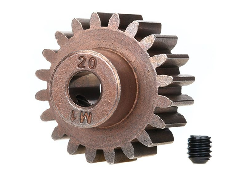 Gear, 20-T pinion (1.0 metric pitch) (fits 5mm shaft)/ set s
