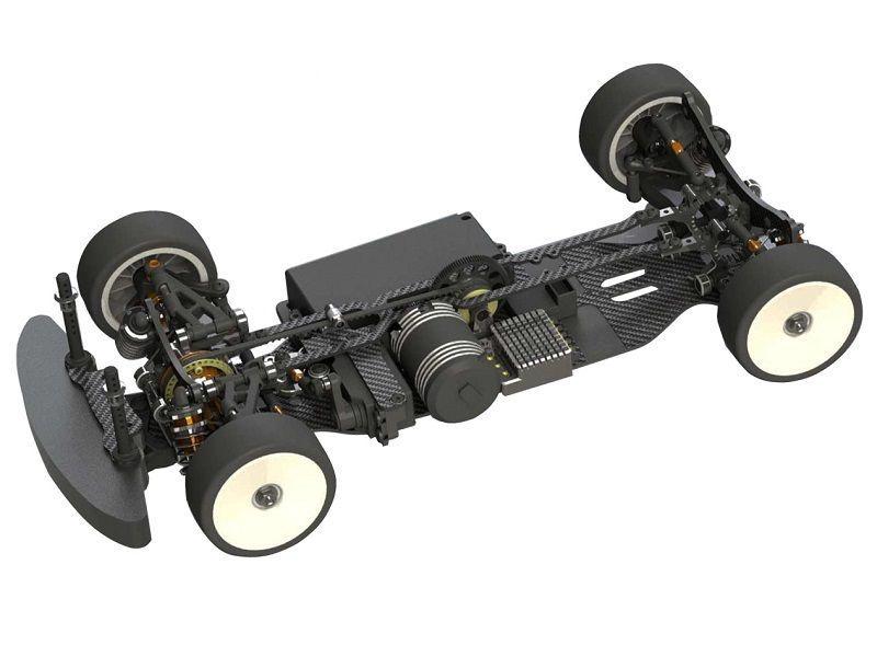 MTC-1 FWD - 1:10 Elektro FWD Tourenwagen Baukasten - 190mm