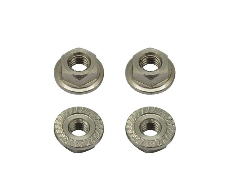 Titanium Wheel Nuts M4 (4)