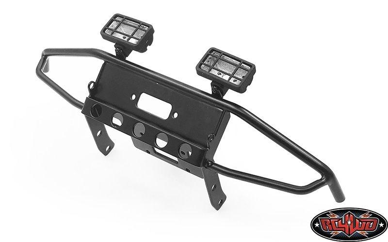 Guardian Steel Front Winch Bumper w/ Lights