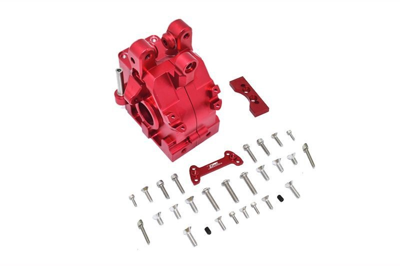 ALUMINUM FRONT GEAR BOX -31PC SET red