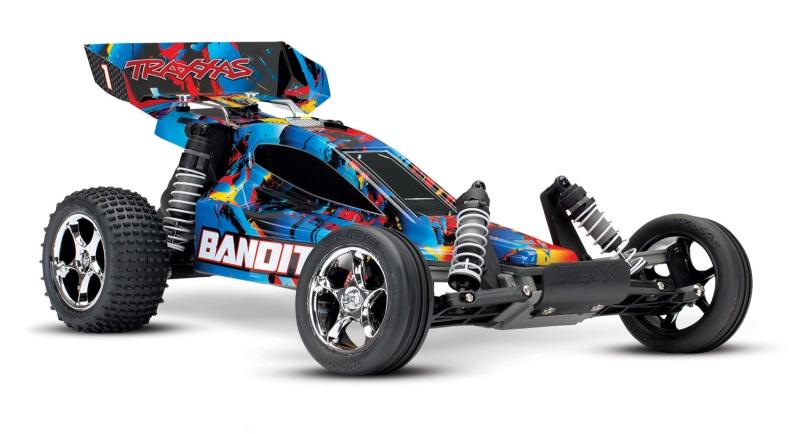 TRAXXAS Bandit RocknRoll Buggy RTR ohne Akku/Lader