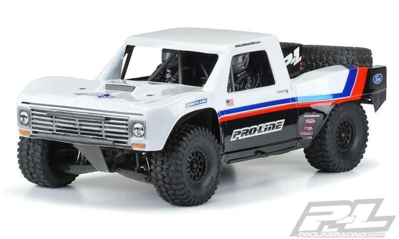 Pro-Line Pre-Cut 1967 Ford F-100 Race-Truck Karo klar