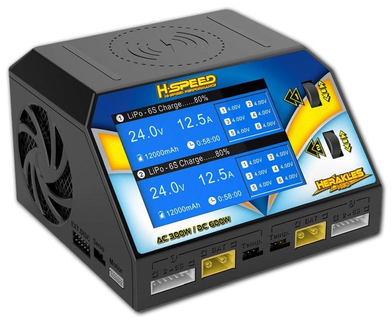 HSPEED Herakles NEO AC/DC Dual-Ladegerät 300W