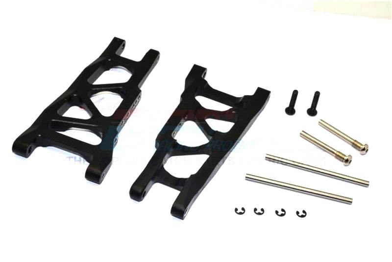 ALLOY REAR LOWER ARM - 1PR SET(= SLA055) black